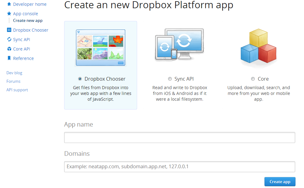 Dropbox File Upload api Using PHP Oauth - | WalksWithMe