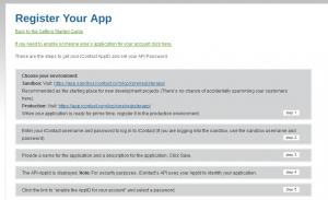 iContact integration using php api