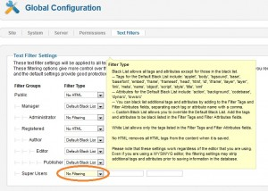 include HTML or PHP codes into Joomla article