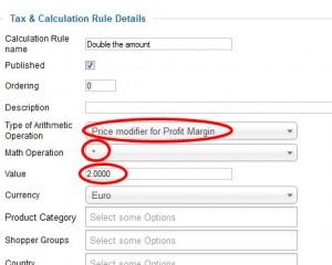 virtuemart calculation plugin