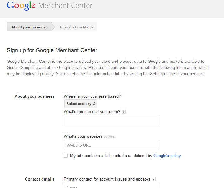 Google Content API for Shopping V1 6 -   WalksWithMe