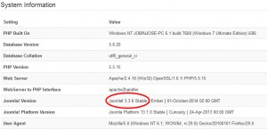 Joomla Upgrade From Joomla 2.5 to Joomla 3.x