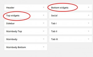 Add New Widget Position in your WordPress theme