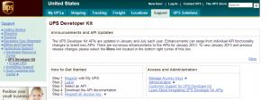 UPS Developer Kit