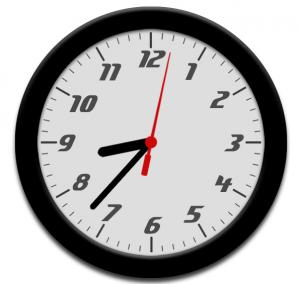 analog clock using jquery