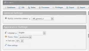 backup MySQL database tables using php