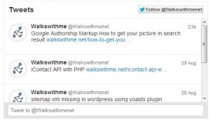 How to get latest tweets in your website