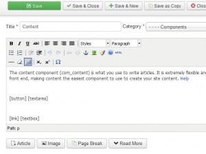 Joomla Content plugin development