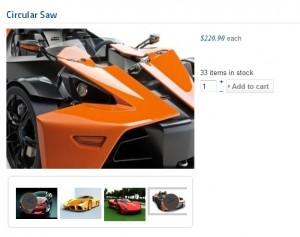 Joomla hikashop product image zoom