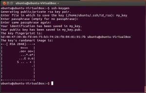 Create SSH Key Pair on Linux machine